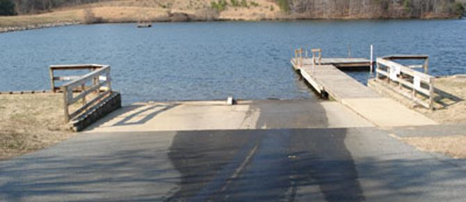 Lake Cooley boat ramp