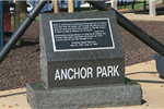 Anchor Park granite marker