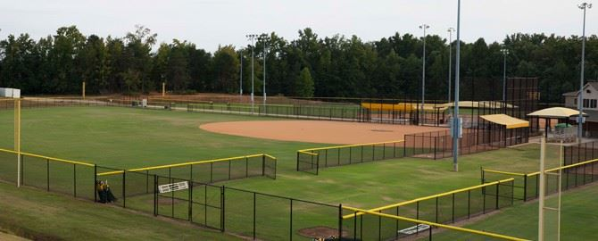 North Spartanburg Park sports fields
